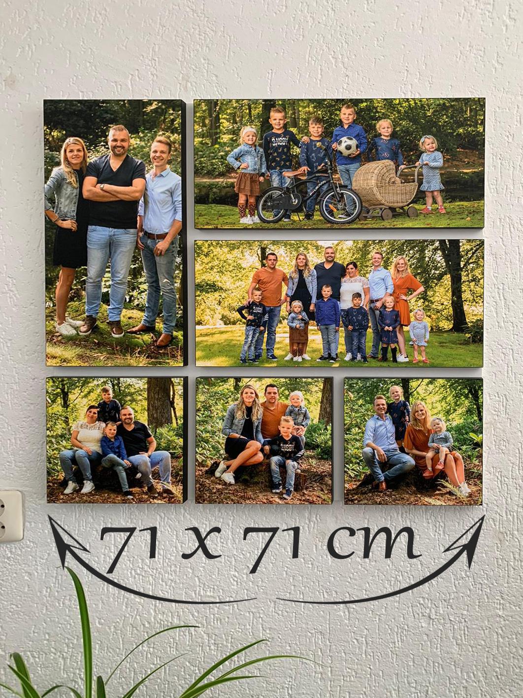 foto Wandpaneel foto op hout